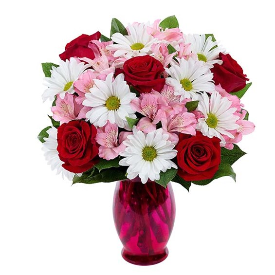 """Sweet Nothing"" flower bouquet for Valentine's Day from Ingallina's Gifts"