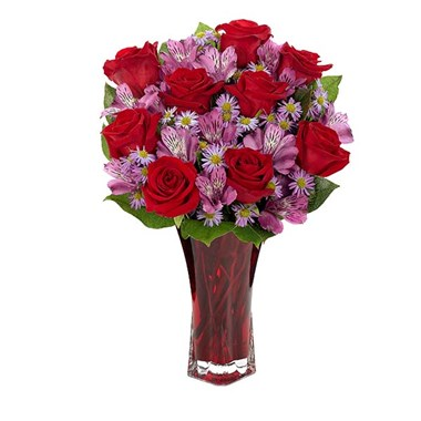 """Say it with Love"" flower bouquet from Ingallina's Gifts"