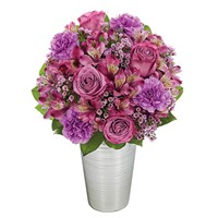 """Purple Perfection"" flower bouquet for sale from Ingallina's Gifts"